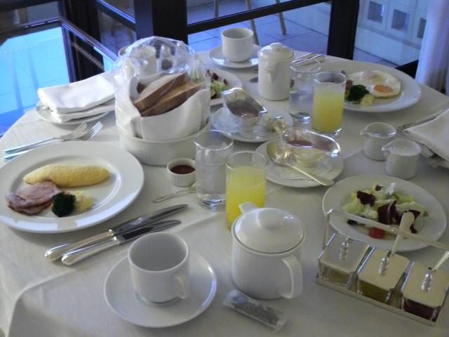 お部屋でbreakfast<br />  ♪